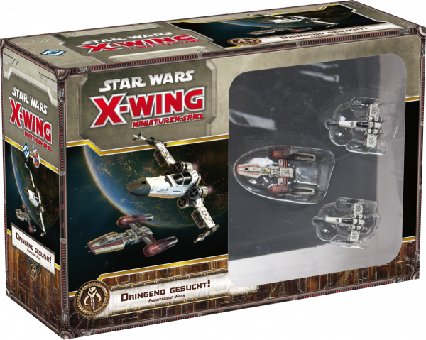 Star Wars X-Wing: Dringend Gesucht! Erw.-Pack - FFG - Deutsch