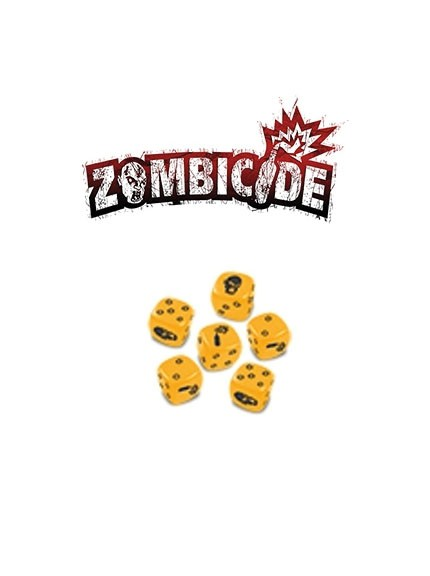 Zombicide Yellow Special Dice