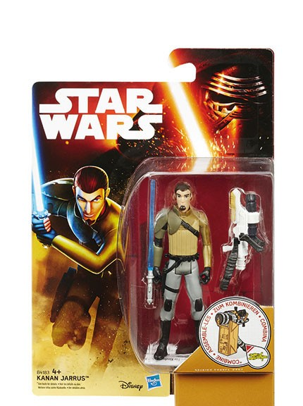 Star Wars Actionfigur - Rebels - Kanan Jarrus